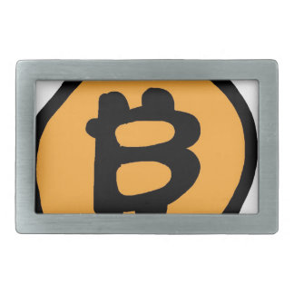 bitcoin collection rectangular belt buckles