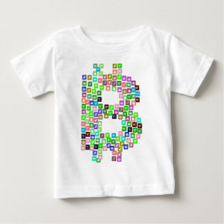 Bitcoin Commerce Icons Baby T-Shirt