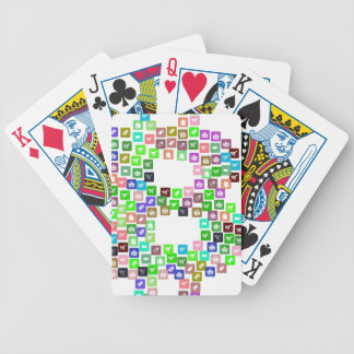 Bitcoin Commerce Icons Bicycle Playing Cards