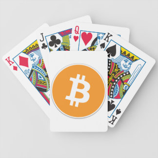 Bitcoin Crypto Currency - For the Bitcoin fans! Bicycle Playing Cards