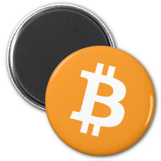 Bitcoin Crypto Currency Logo Magnet