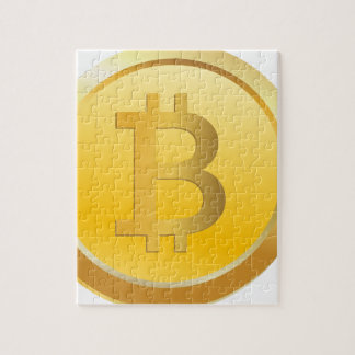 Bitcoin Cryptocurrency Jigsaw Puzzle