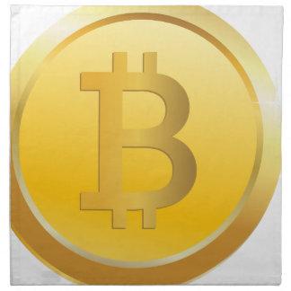 Bitcoin Cryptocurrency Napkin