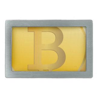 Bitcoin Cryptocurrency Rectangular Belt Buckles