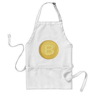 Bitcoin Cryptocurrency Standard Apron
