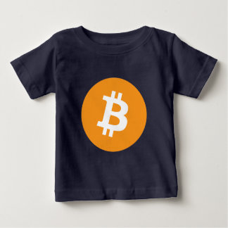 Bitcoin Currency Cool Logo Baby T-Shirt