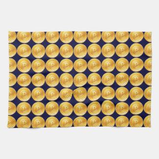 Bitcoin currency - M1 Cooks Tea Towel