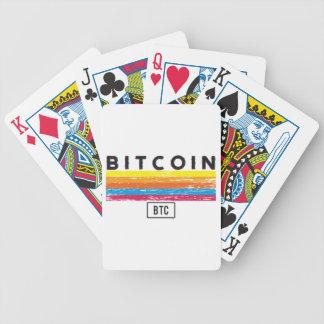 Bitcoin Express Bicycle Playing Cards