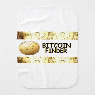 BITCOIN finder Burp Cloth