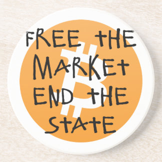 Bitcoin - Free the Market End the State Coaster