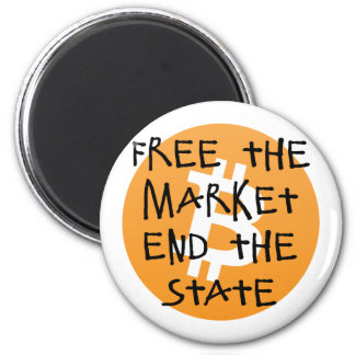 Bitcoin - Free the Market End the State Magnet