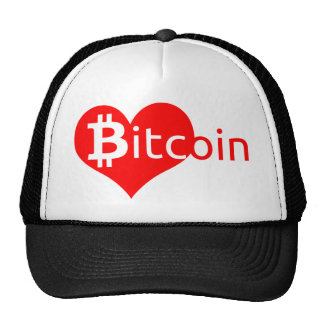 Bitcoin heart cap