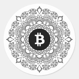 BITCOIN/HENNA-Round Sticker