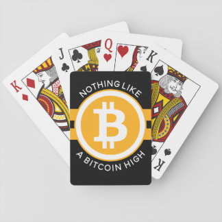 Bitcoin High Playing Cards