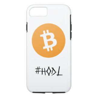 Bitcoin #HODL Phone Case