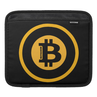 Bitcoin Logo Classic Style 2 Sleeves For iPads