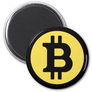 Bitcoin Logo Magnet