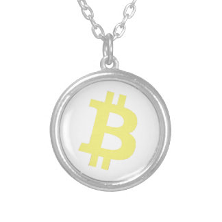 Bitcoin Logo Personalized Necklace