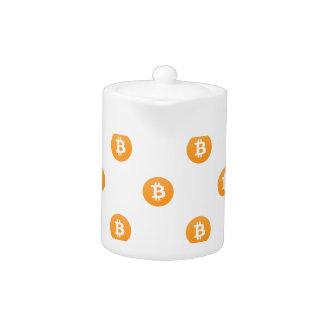 Bitcoin Logo Pattern