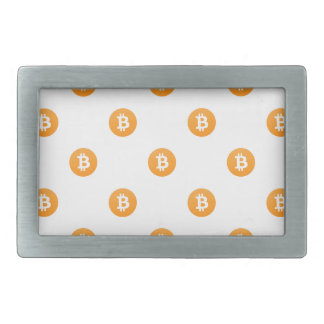 Bitcoin Logo Pattern Belt Buckles
