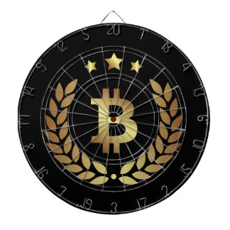 Bitcoin Logo Symbol Cryptocurrency Coin Dartboard