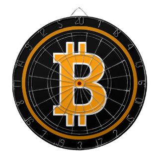 Bitcoin Logo Symbol Cryptocurrency Coin Dartboard