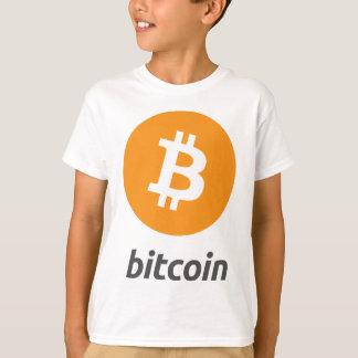 Bitcoin logo with text T-Shirt