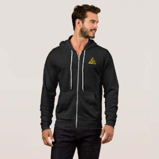 Bitcoin - Men's Bella+Canvas Full-Zip Hoodie