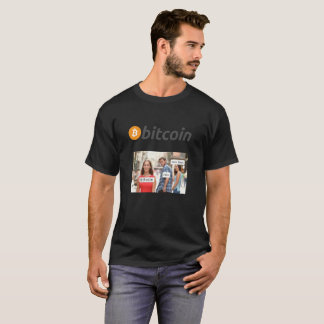 Bitcoin Mens T Shirt-Jamie Dimon on Bitcoin T-Shirt