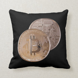 Bitcoin metallic made of to copper. M1 Cushion