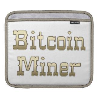 Bitcoin Miner iPad Sleeve