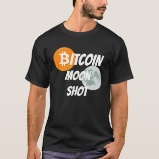 Bitcoin Moon Shot - BTC Blockchain Cyprto T-Shirt