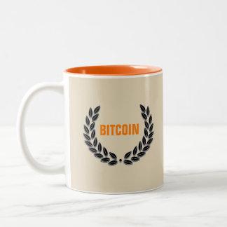 BITCOIN Orange mug