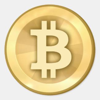 Bitcoin (pack of 6/20) round sticker