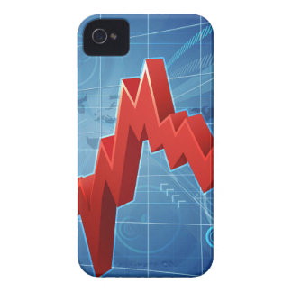 Bitcoin Performance Graph Concept iPhone 4 Cases