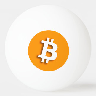 """BITCOIN"" PING PONG BALL"