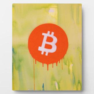 Bitcoin Plaque