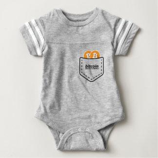 BITCOIN/POCKET-Onsie Baby Bodysuit