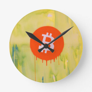 Bitcoin Round Clock