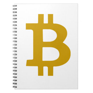 Bitcoin Spiral Notebook