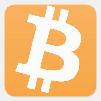 Bitcoin Square Sticker