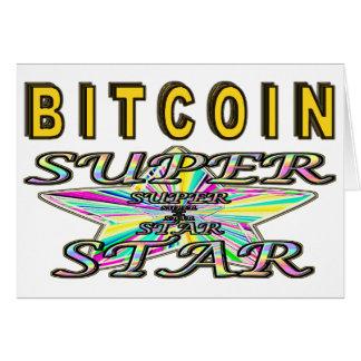 Bitcoin Superstar Card