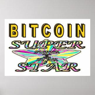 Bitcoin Superstar Poster