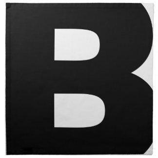 Bitcoin Symbol Napkin