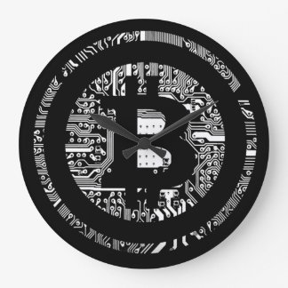 Bitcoin - the internet of money large clock