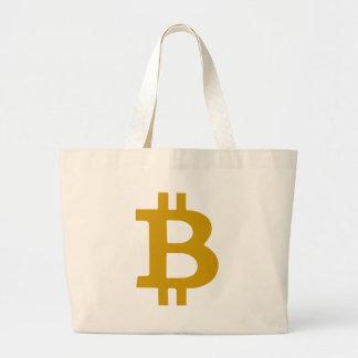Bitcoin Jumbo Tote Bag