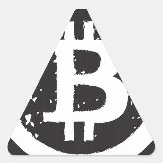 Bitcoin Triangle Sticker