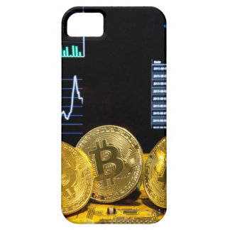 Bitcoin trio circuit market charts clean barely there iPhone 5 case