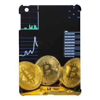 Bitcoin trio circuit market charts clean case for the iPad mini