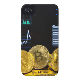 Bitcoin trio circuit market charts clean iPhone 4 case